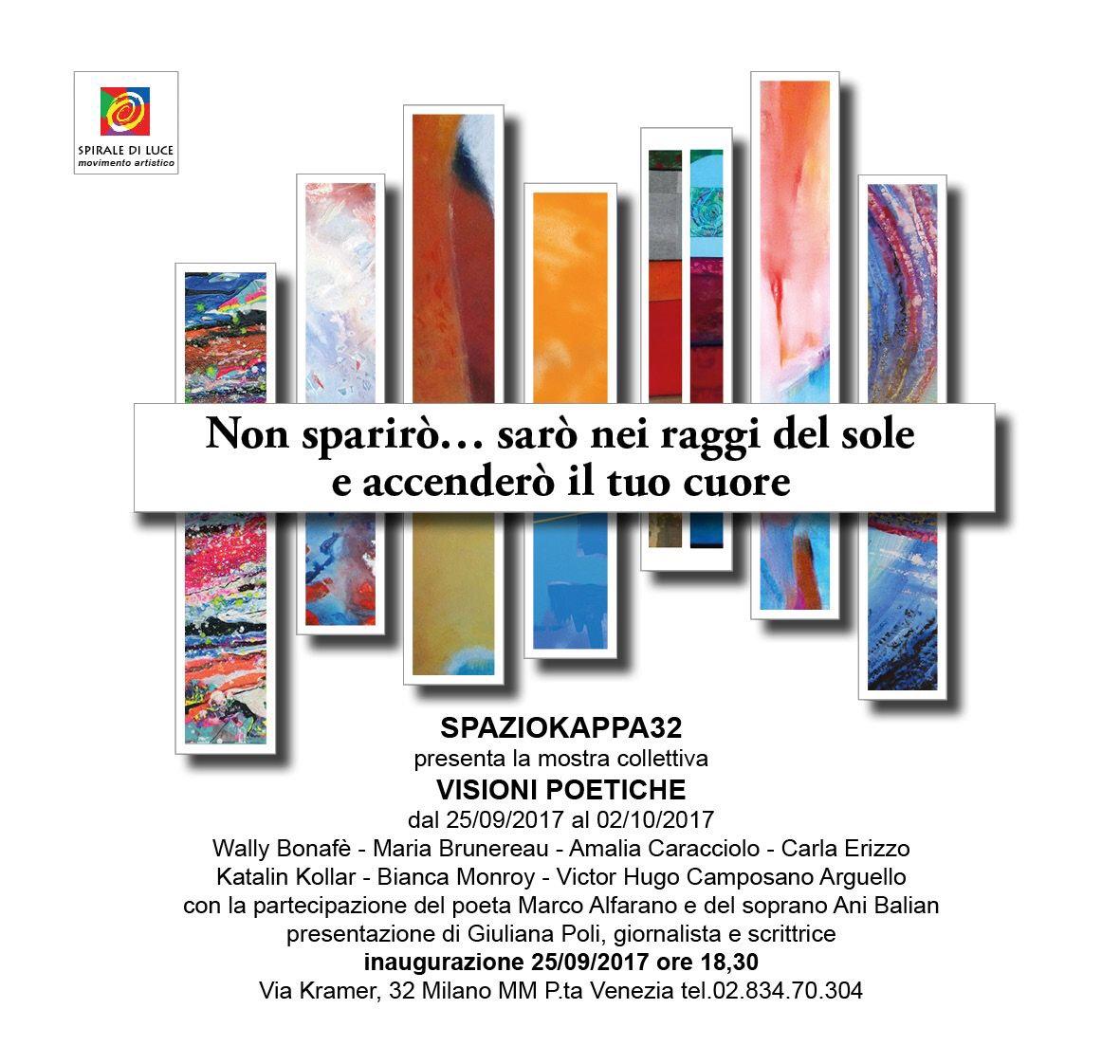 Giuliana Poli presenta : Visioni poetiche
