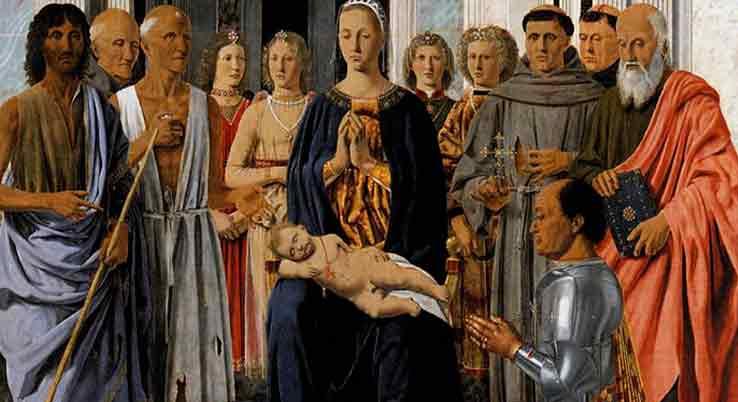 Piero della Francesca: la Sacra Conversazione di Brera – L'Uovo e la Maddalena